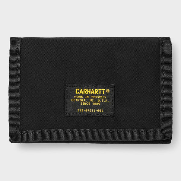 product: Carhartt WIP Ashton Wallet Black