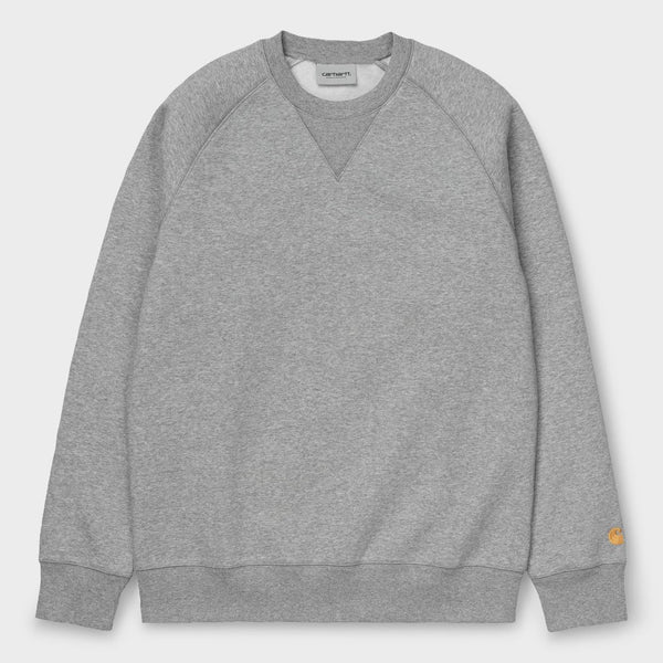 product: Carhartt WIP Chase Sweatshirt Grey Heather