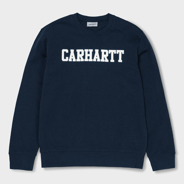 product: Carhartt WIP College Crewneck Dark Navy