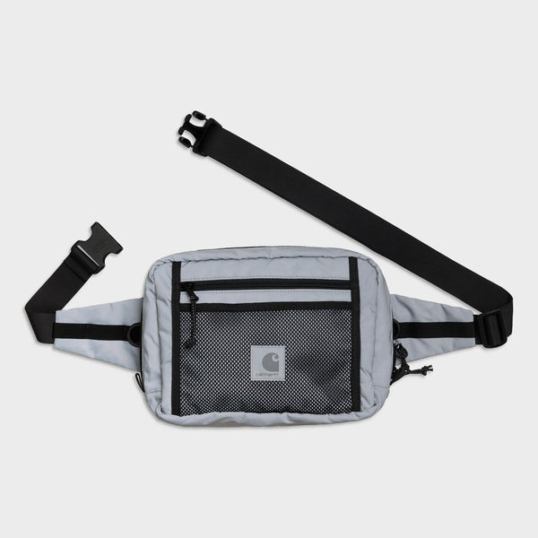 product: Carhartt WIP Flect Hip Bag Reflective Grey