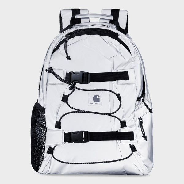 product: Carhartt WIP Flect Kickflip Backpack Reflective Grey