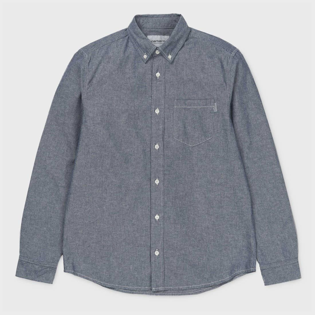 Carhartt WIP L/S Civil Shirt Blue Rinsed
