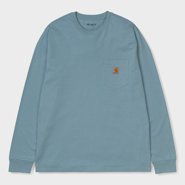 product: Carhartt WIP Pocket Shirt Frosted Blue