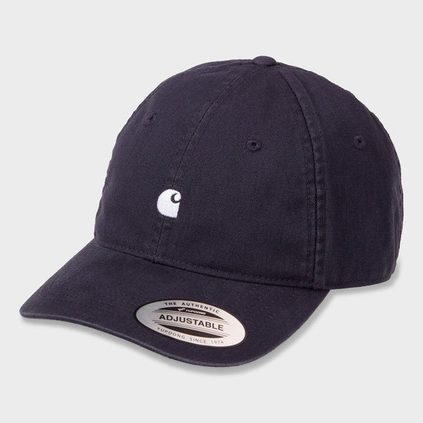 product: Carhartt WIP Madison Logo Cap Dark Navy/ Wax