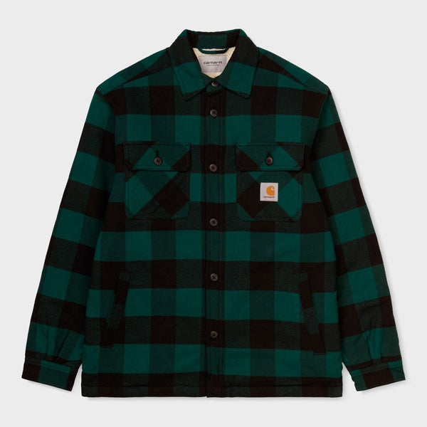 product: Carhartt WIP Merton Shirt Jac Dark Fir