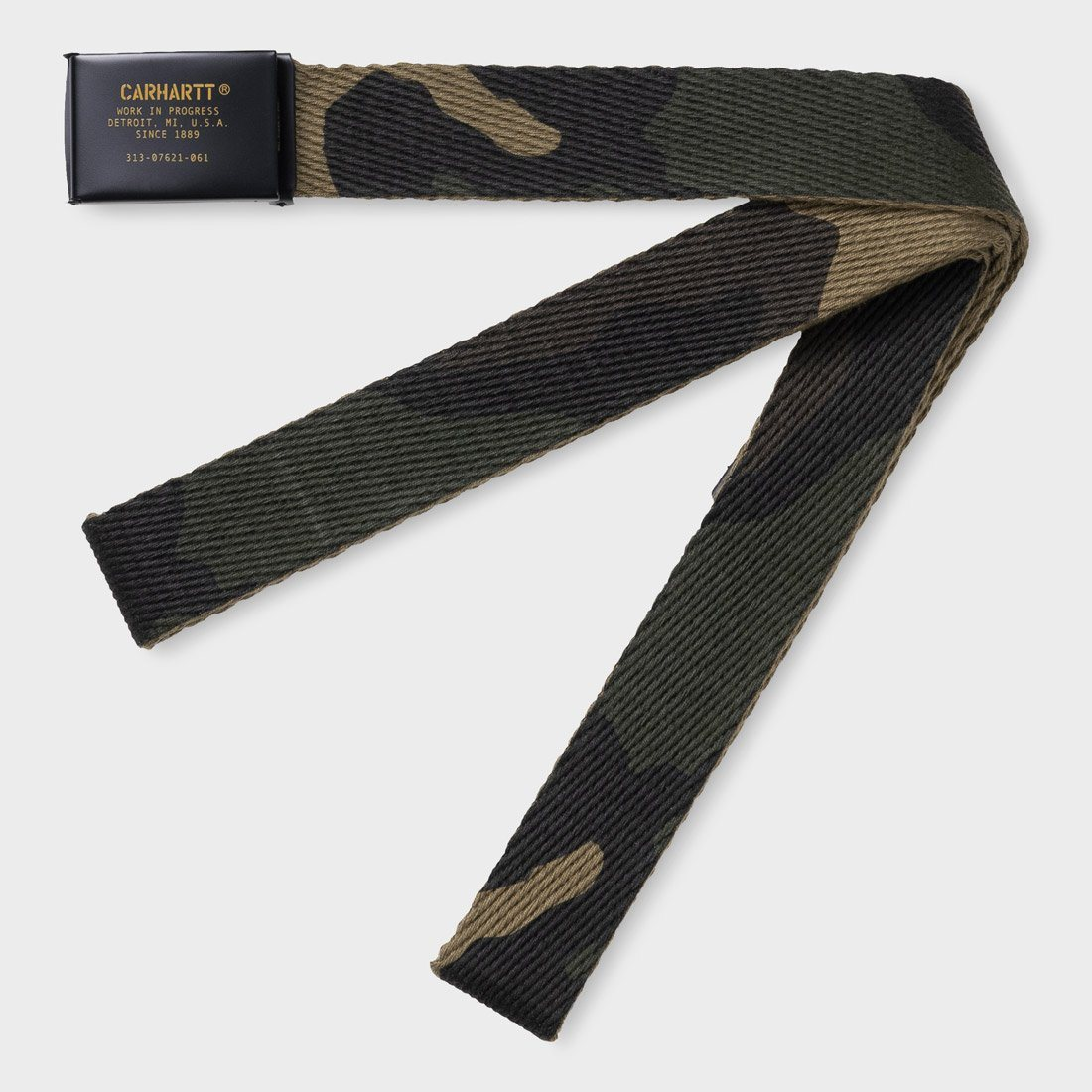 Carhartt WIP Military Printed Belt Camo Laurel