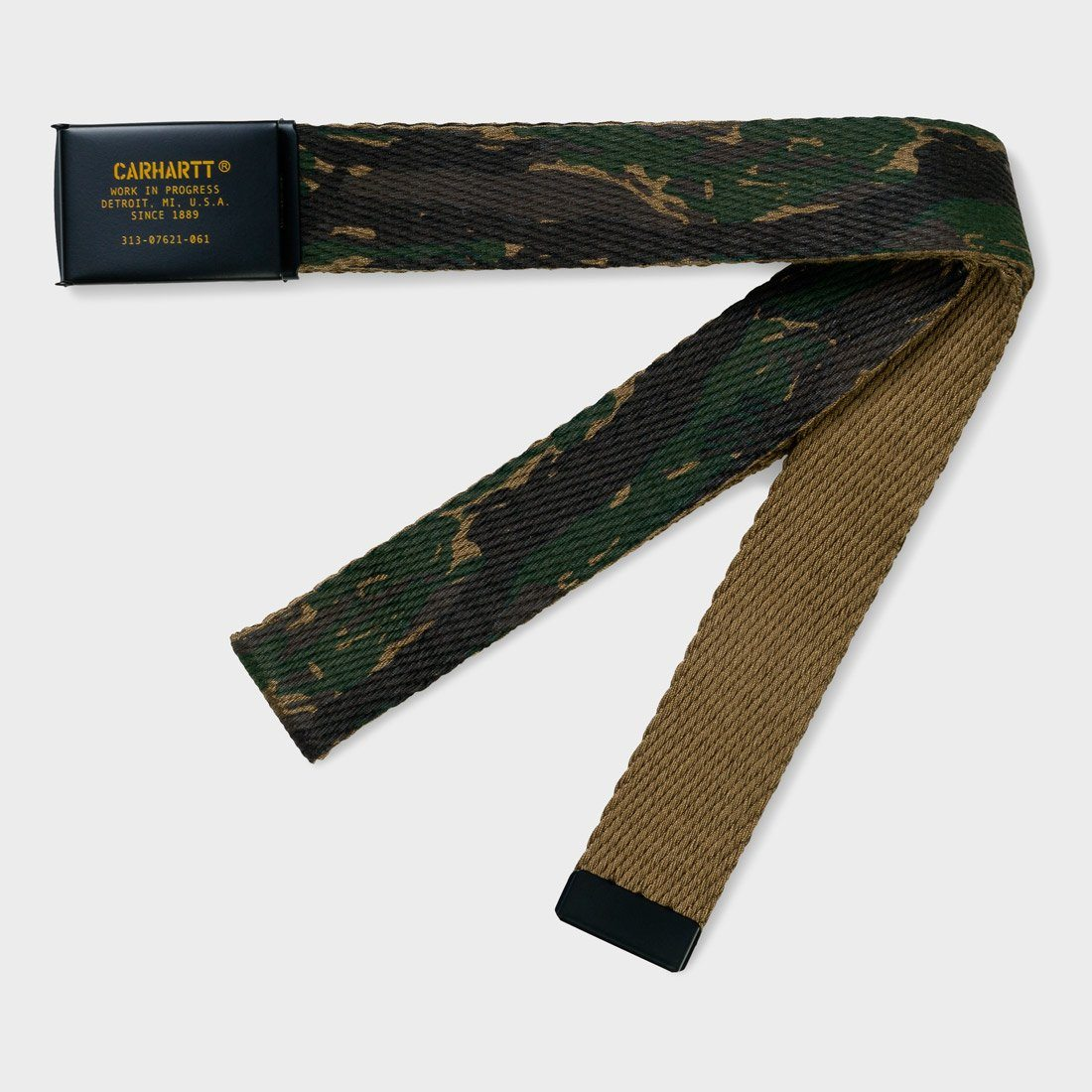 Carhartt WIP Military Printed Belt Camo Tiger Jungle