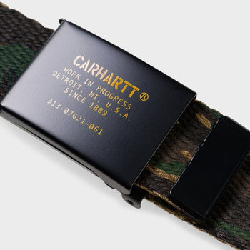 product: Carhartt WIP Military Printed Belt Camo Tiger Jungle