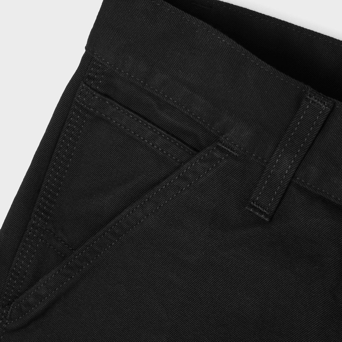 b8cdea48 ... product: Carhartt WIP Ruck Single Knee Pant Black Stone Washed