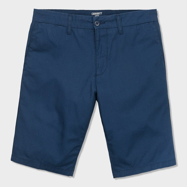 product: Carhartt WIP Sid Short Dark Navy Rinsed