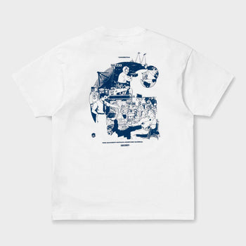 product: Carhartt WIP Radio T-Shirt White