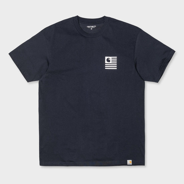 Carhartt WIP S/S State Sports T-Shirt Navy