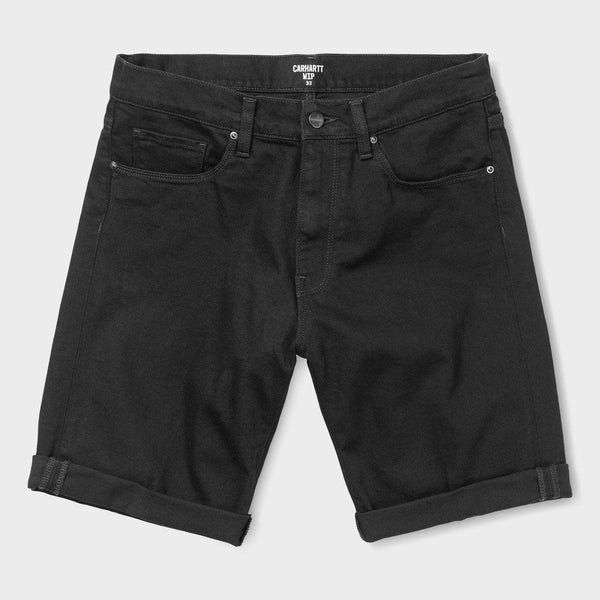 product: Carhartt WIP Swell Short Black Rinsed