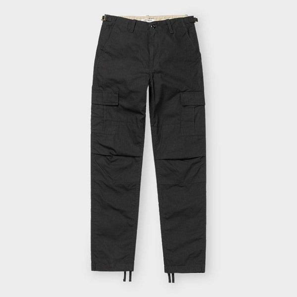 product: Carhartt WIP Women's Aviation Pant Black Rinsed
