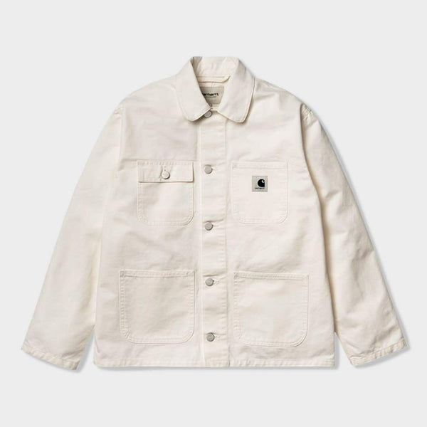 product: Carhartt WIP Women's Michigan Chore Coat Off-White