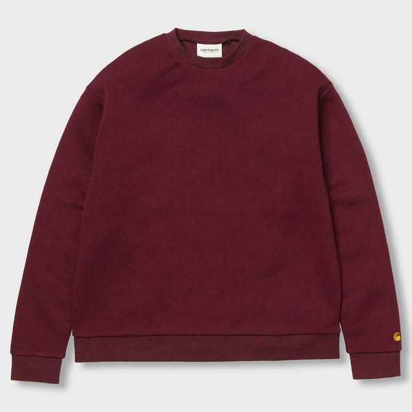 product: Carhartt WIP Women's Chase Sweater Amarone