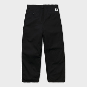 product: Carhartt WIP Women's Great Master Pant Black Rinsed
