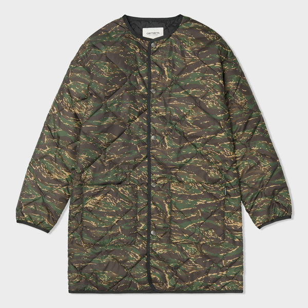 product: Carhartt WIP Women's Jane Liner Camo Tiger Jungle