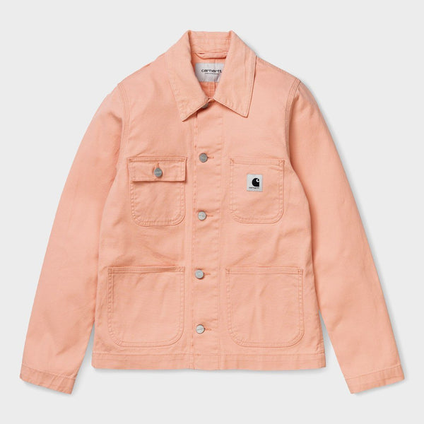 product: Carhartt WIP Women's Michigan Coat Peach Rinsed
