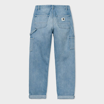 product: Carhartt WIP Women's Pierce Pant Blue Light Stone Wash