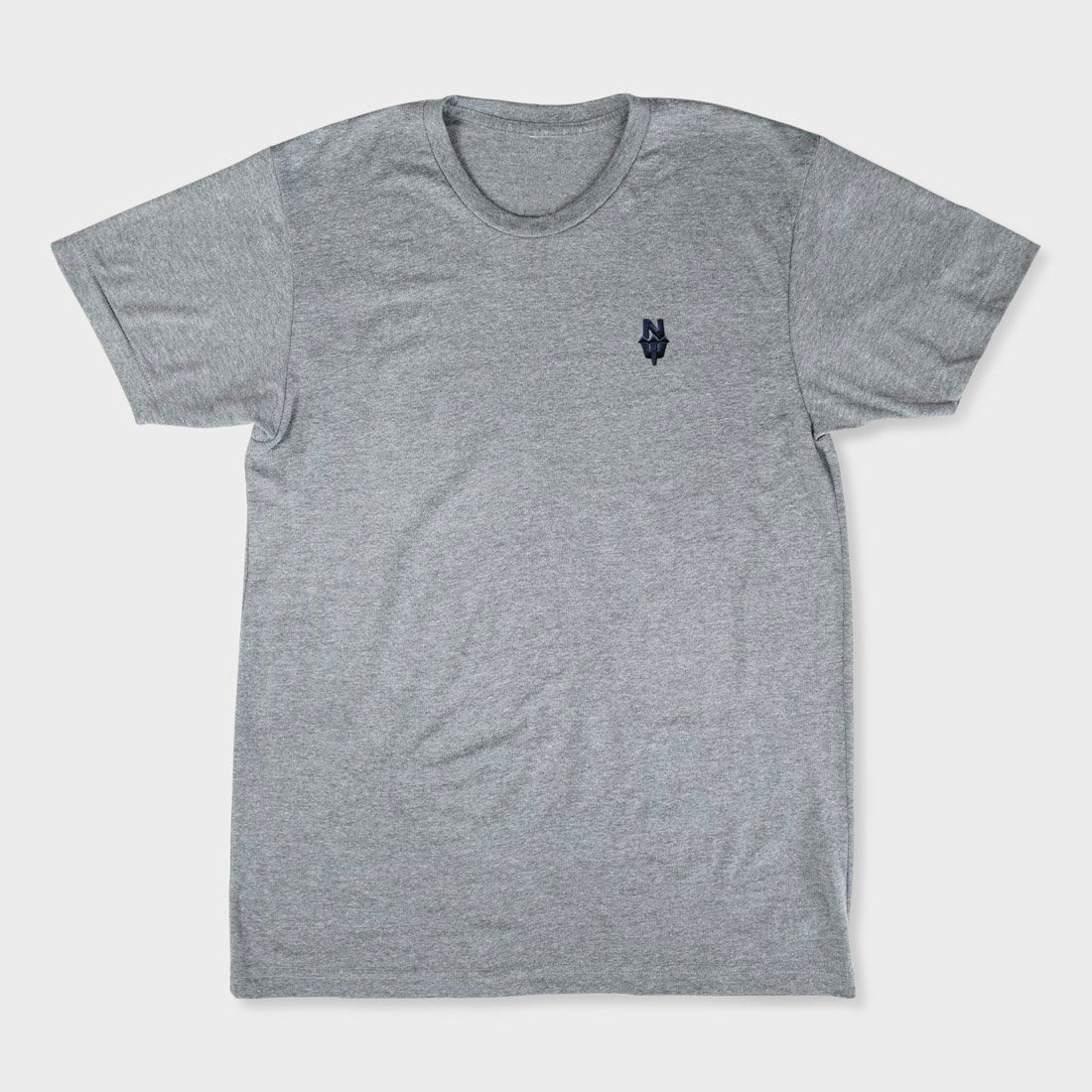 Casual Industrees N Dub T-Shirt Heather Grey