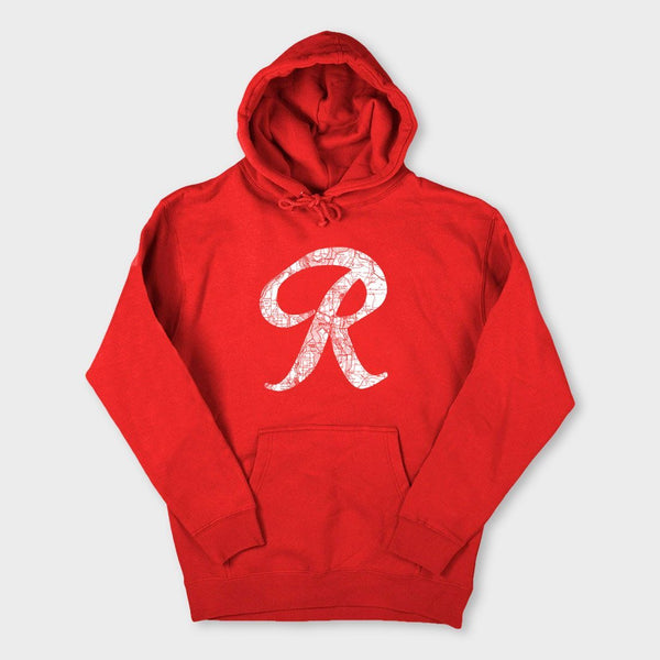 product: Casual Industrees R-Topo Hoodie Red
