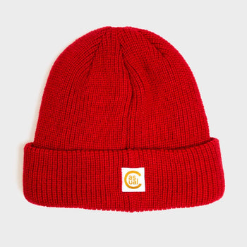 product: Casual Industrees Rainier Beanie Red
