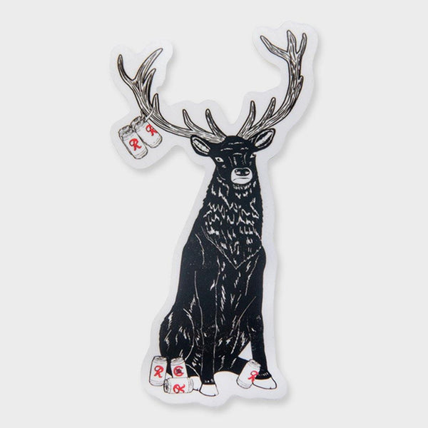 product: Casual Industrees Rainier Deer Sticker