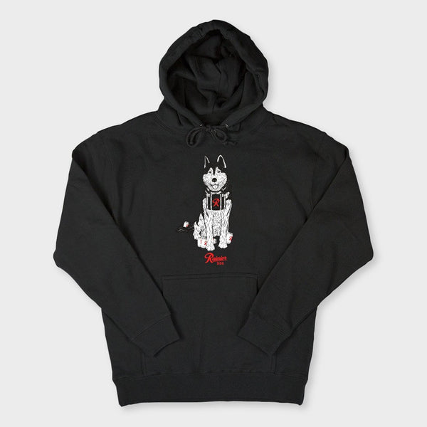 product: Casual Industrees Rainier Dog Hoodie Black