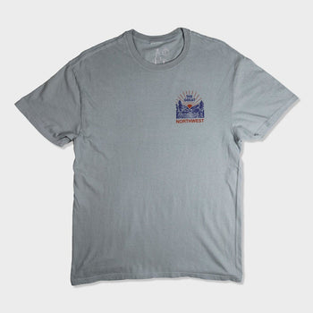 product: Casual Industrees Squatch Valley T-Shirt Dove Grey