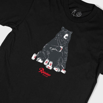 product: Casual Industrees Casual x Rainier Bear SS Tee Black