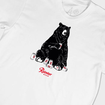 product: Casual Industrees Casual x Rainier Bear SS Tee White