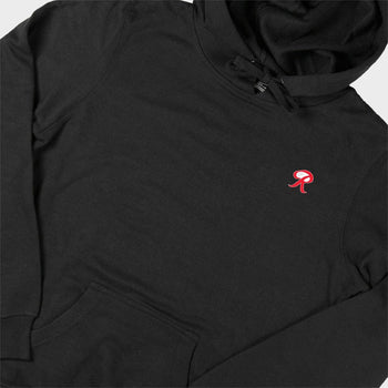 product: Casual Industrees Casual x Rainier Women's Embroidery Hoodie Black