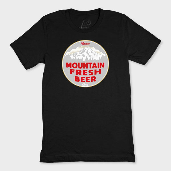 product: Casual Industrees Casual x Rainier Women's Mountain Fresh SS Tee Black