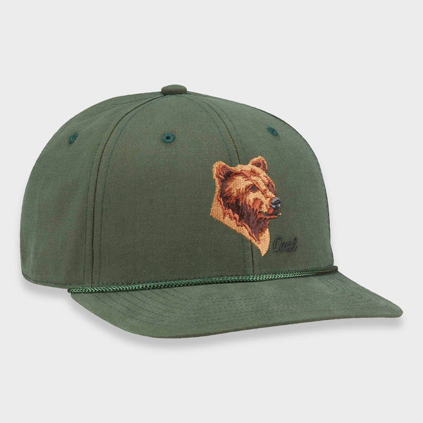 product: Coal Wilderness Low SP Hat Forest Green (Bear)