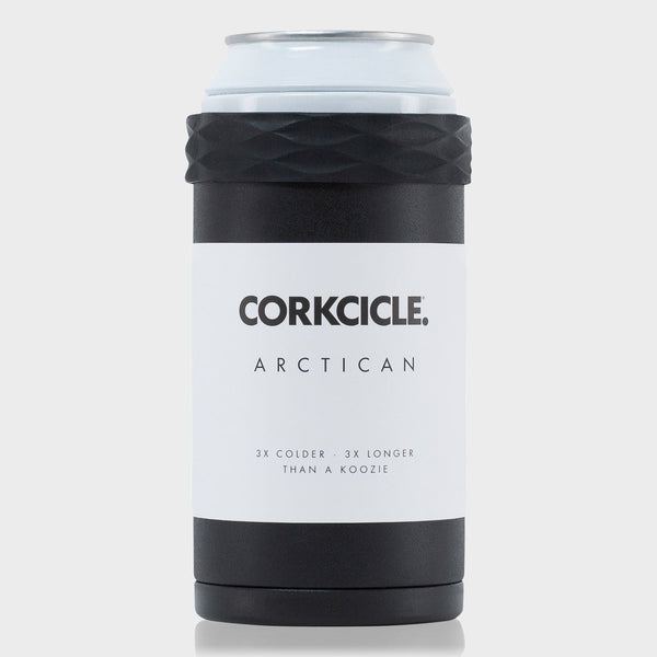 product: Corckcicle Arctican Can Cooler Black