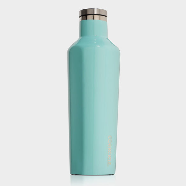 product: Corkcicle Canteen 16oz Turquoise