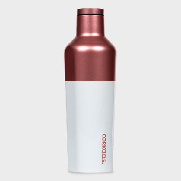 product: Corkcicle Canteen 16 oz Modern Rose