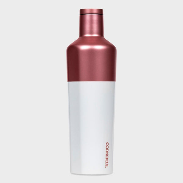 product: Corkcicle Canteen 25 oz Modern Rosé