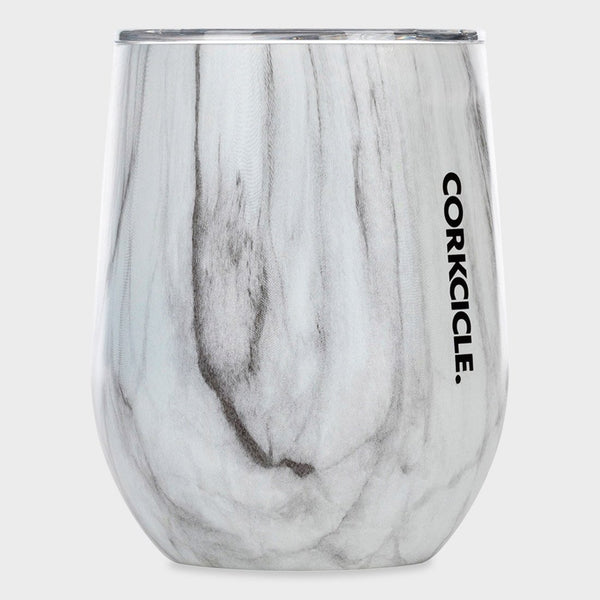 product: Corkcicle Stemless Wine Tumbler 12 oz Snowdrift