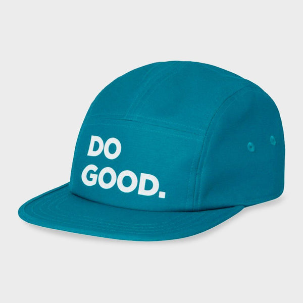 product: Cotopaxi Do Good 5 Panel Hat Submarine