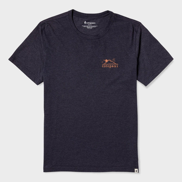 product: Cotopaxi Small Mountain Sun T-Shirt Graphite
