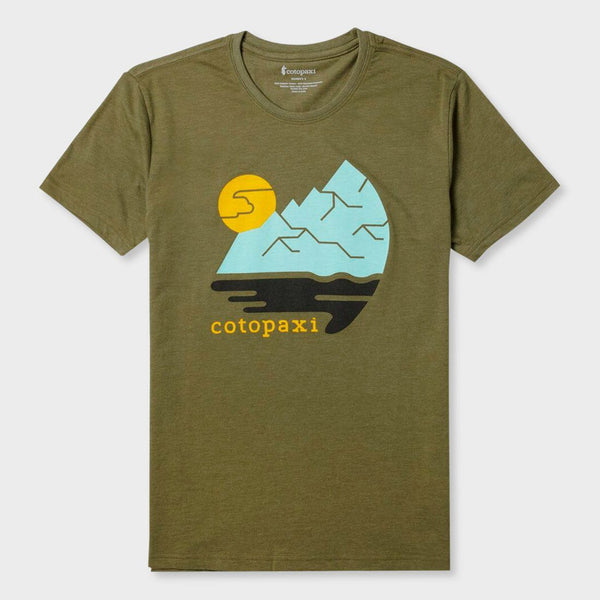 product: Cotopaxi Women's Cliffside T-Shirt Moss