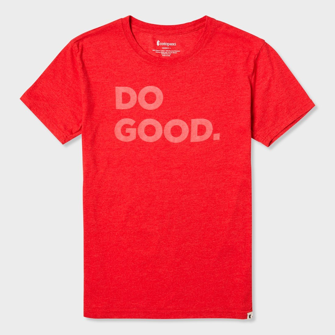 Cotopaxi Women's Do Good T-Shirt Racing Red