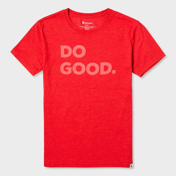 product: Cotopaxi Women's Do Good T-Shirt Racing Red