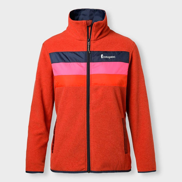 product: Cotopaxi Women's Teca Fleece Jacket Hot Sauce