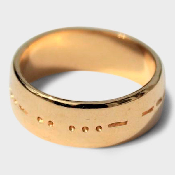 product: Covet and Keep Aorta Ring Gold
