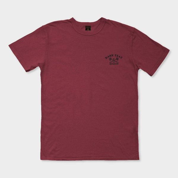 product: Dark Seas Divers Club T-Shirt Biking Red