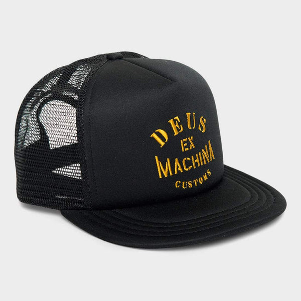 product: Deus Ex Machina Crew Trucker Black