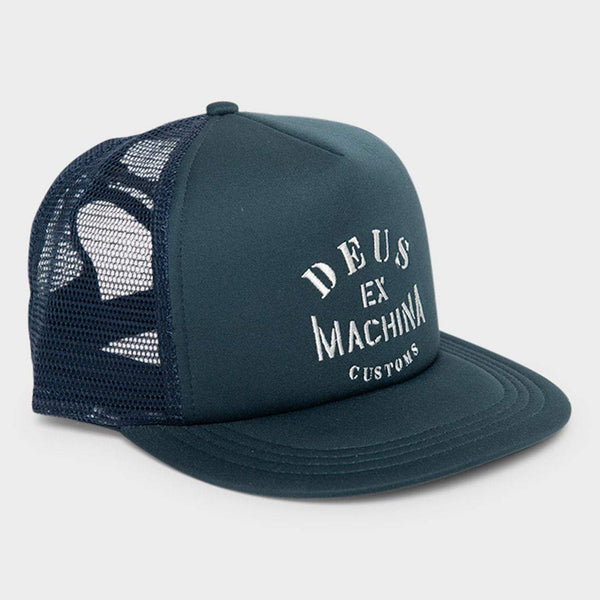 product: Deus Ex Machina Crew Trucker Deep Blue